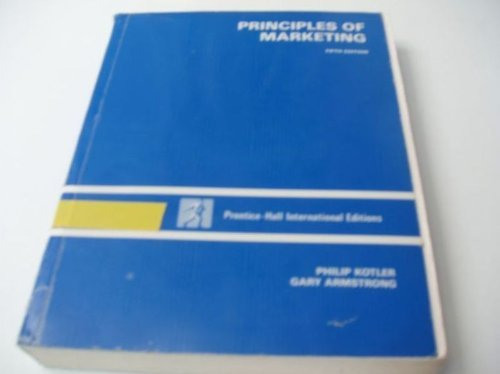 9780137167395: Principles of Marketing Study Guide (The Prentice Hall Series in Marketing)