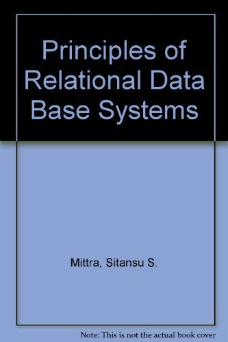 9780137167968: Principles of Relational Database Systems