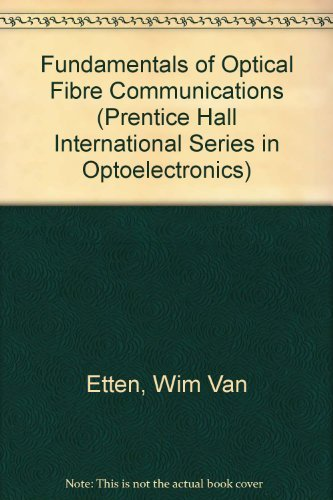 Optical Fibre Communication Book