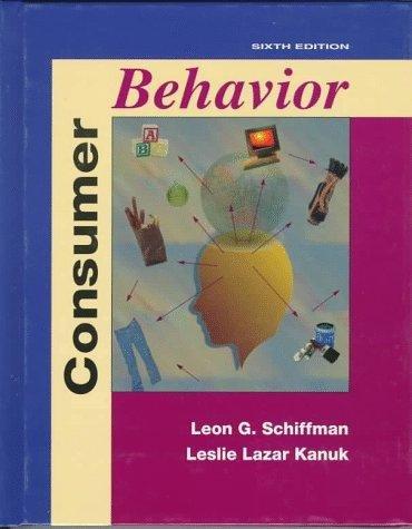 9780137195015: Consumer Behaviour (Prentice Hall International Editions)
