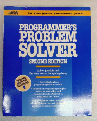 9780137201945: The Programmer's Problem Solver (The Peter Norton programming library)