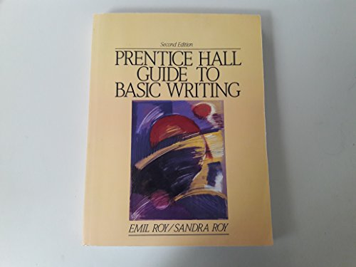9780137206650: Prentice Hall Guide to Basic Writing