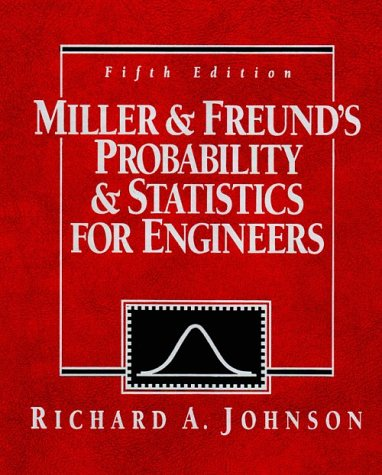 9780137214082: Miller and Freund's Probability and Statistics for Engineers