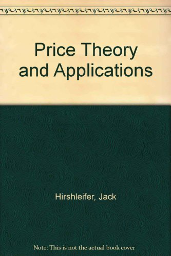 9780137216710: Price Theory and Applications
