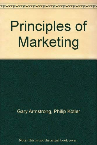 9780137216895: Principles of Marketing