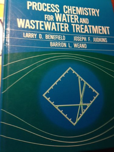 9780137229758: Process Chemistry for Water and Wastewater Treatment