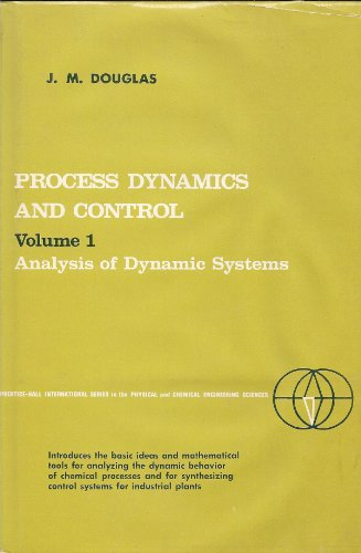 9780137230495: Process Dynamics and Control: Analysis of Dynamic Systems v. 1