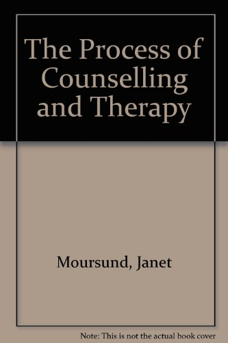 9780137231317: The Process of Counselling and Therapy
