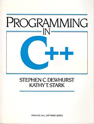9780137231560: Programming in C++