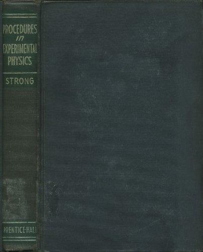 9780137235773: Procedures in Experimental Physics. (Prentice-Hall Physics Series).