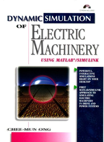 9780137237852: Dynamic Simulation of Electric Machinery: Using MATLAB/SIMULINK