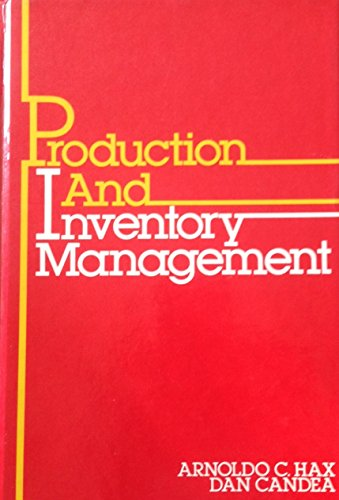 9780137248803: Production and Inventory Management