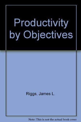 9780137253746: Productivity by Objectives