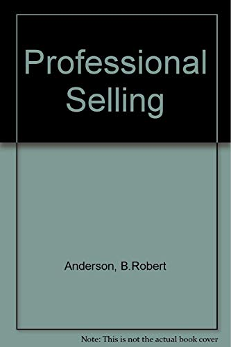 9780137259601: Professional Selling