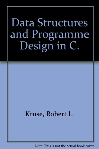 9780137263325: Data Structures and Programme Design in C.