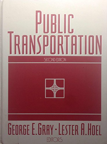 9780137263813: Public Transportation: Planning Operations and Management (Prentice Hall series in engineering reference)