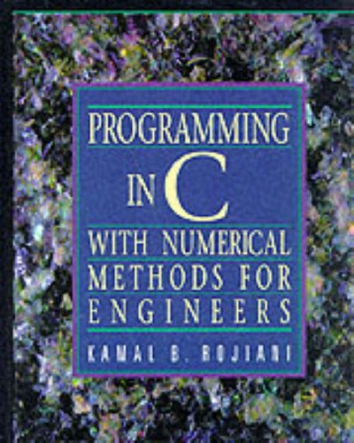 9780137264988: Programming in C: With Numerical Methods for Engineers