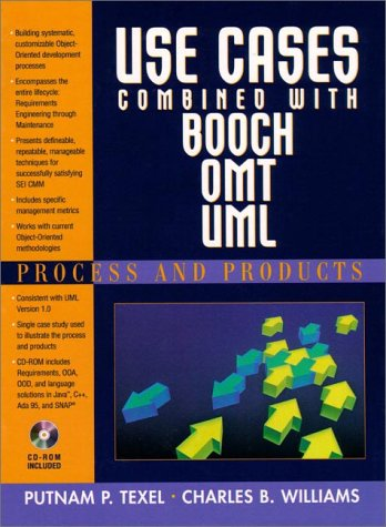 9780137274055: Use Cases Combined with Booch/OMT/UML: Process and Products