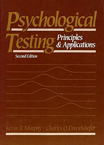 9780137286768: Psychological Testing Principles & Applications