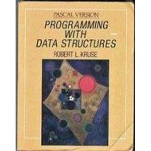 9780137292387: Programming With Data Structures: Pascal Version/Book and Disk