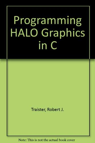 9780137293100: Programming Halo Graphics in C