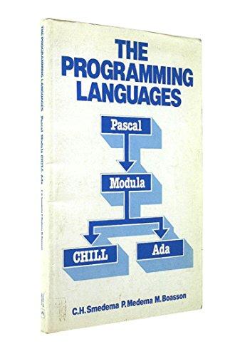 9780137297566: The Programming Languages: Pascal, Modula, Chill and Ada