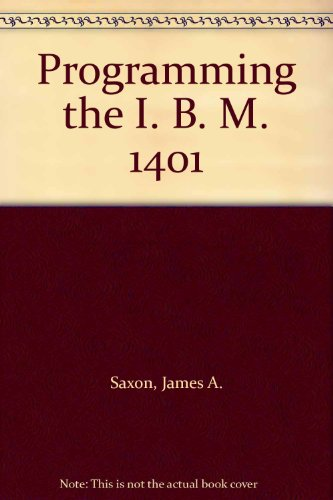 9780137303175: Programming the I. B. M. 1401