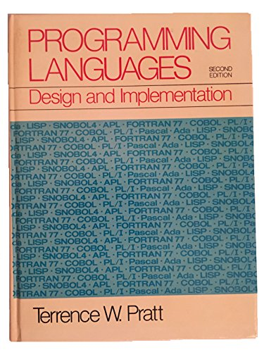 9780137305803: Programming Languages: Design and Implementation