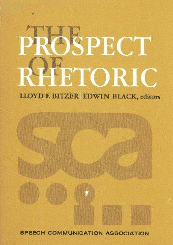 9780137313310: The Prospect of rhetoric;: Report of the national developmental project, sponsored by Speech Communication Association (Prentice-Hall speech communication series)