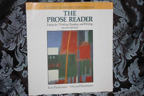 9780137315147: The Prose reader: Essays for thinking, reading, and writing