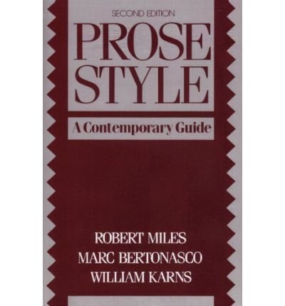 9780137315215: Prose style for the modern writer (Prentice-Hall series in English composition)