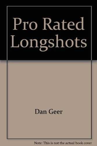 9780137315543: Pro rated longshots: A proven method for selecting longshot winners
