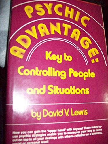 9780137320325: Psychic advantage : key to controlling people and situations