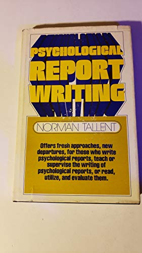 9780137325030: Psychological Report Writing