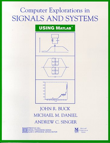 9780137328680: Computer Explorations in Signals and Systems Using MATLAB