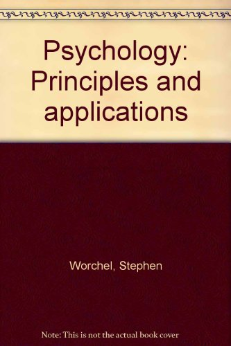 9780137329427: Psychology: Principles and applications