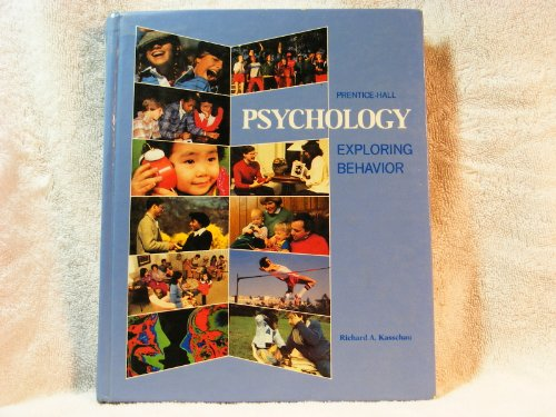 9780137332625: Psychology: Exploring Behavior