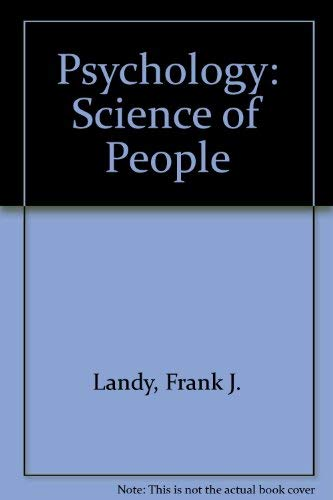 9780137335107: Psychology: The Science of People