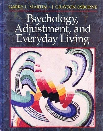 9780137358045: Psychology, Adjustment, and Everyday Living