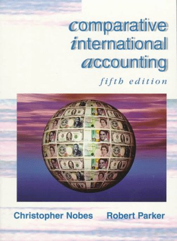 Comparative International Accounting: Prof Christopher Nobes,