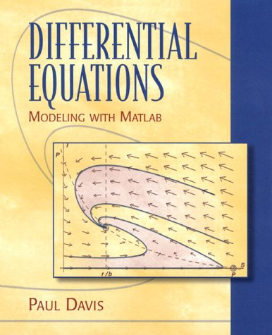 9780137365395: Differential Equations: Modeling with MATLAB