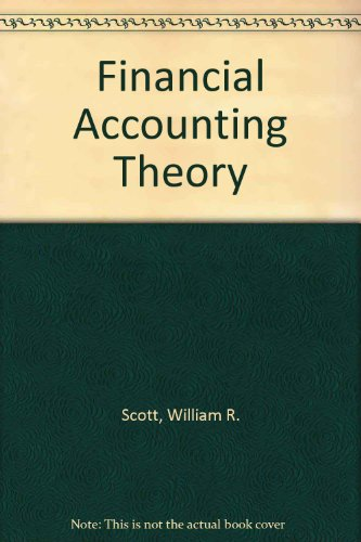 9780137368020: Financial Accounting Theory