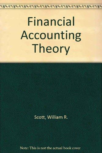 9780137368020: Financial Accounting Theory