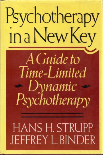 9780137368853: Psychotherapy in a New Key: A Guide to Time-Limited Dynamic Psycotherapy
