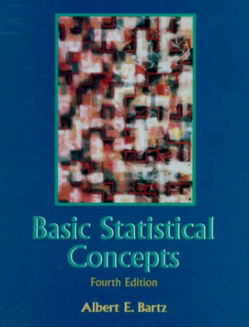9780137371808: Basic Statistical Concepts (4th Edition)