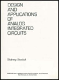 9780137376858: Design and Application of Analog Integrated Circuits