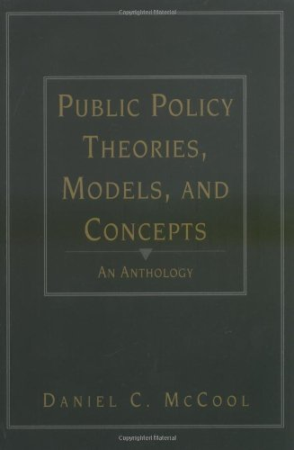 9780137378678: Public Policy Theories, Models, and Concepts: An Anthology