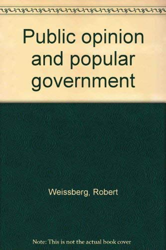 9780137379088: Public opinion and popular government
