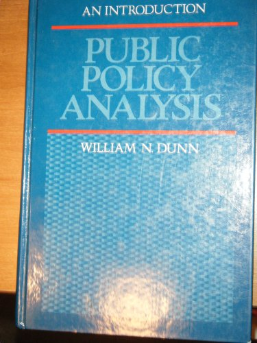 9780137379576: Public Policy Analysis: An Introduction