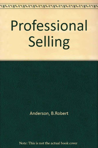 9780137386260: Professional Selling